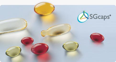 Мягкие желатиновые капсулы SGcaps Capsugel